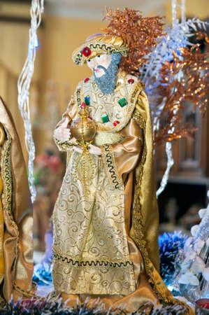 reyes magos: Una escena de la Natividad Reyes Magos