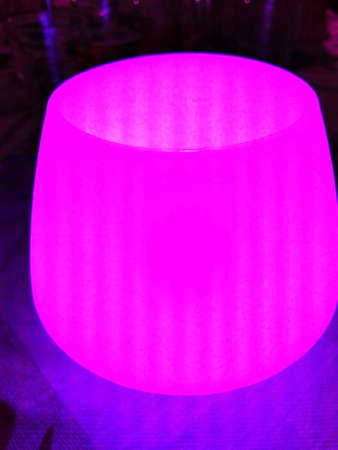 rubbery: Pink Table Lamp