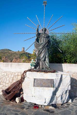 saint: Saint Patronal statue