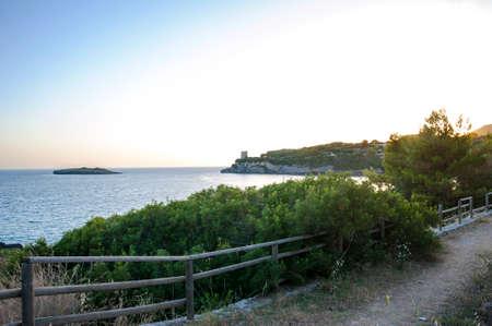 along: Awesome pathway along the coast