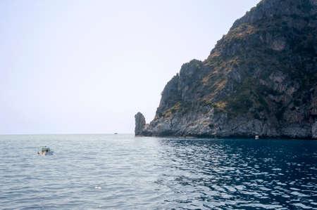 palinuro: Cape Palinuro, Italy Stock Photo