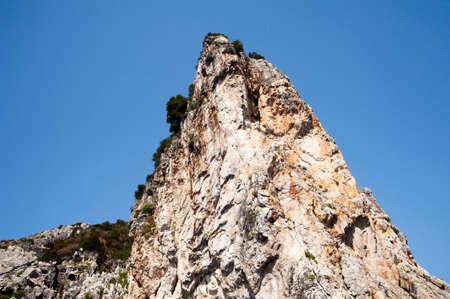 崖をインデント
