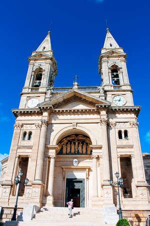 sculp: Church of Saints Cosma and Damiano, Alberobello, Italy