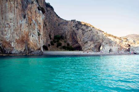 The awesome cove called `Arco Naturale,` Palinuro, Italy (horizontal) 版權商用圖片
