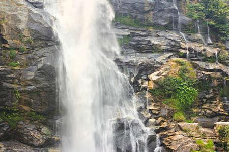 Wachirathan Waterfall Stock Photo