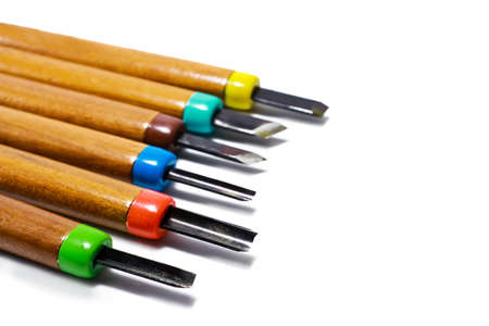 Wood carving tools Stock Photo - 13085367