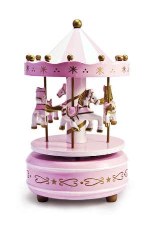 Carousel Toy Stock Photo