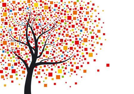 Abstract tree Stock Vector - 13696739