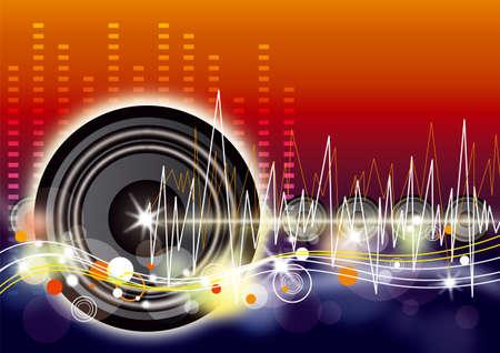 musik hintergrund: Hintergrund Musik Illustration