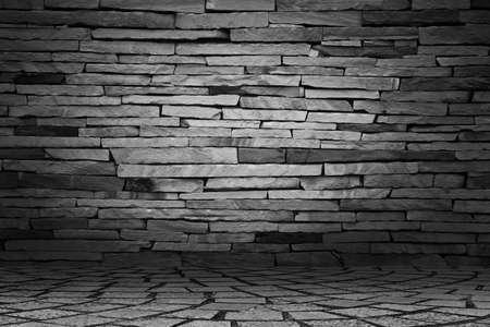 beautify: Stone wall Stock Photo
