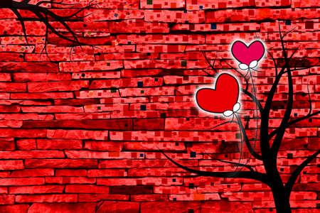 Valentines day background photo
