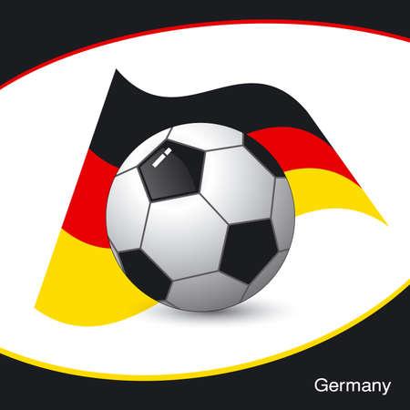 Germany football Vector