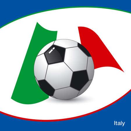 Italy football Vector