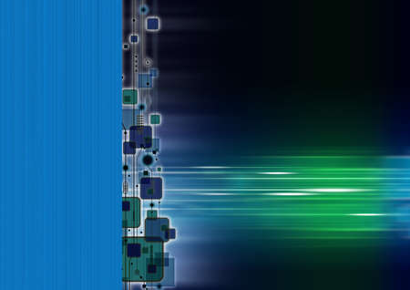 Technology background Stock Photo - 14028222
