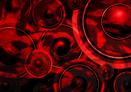music abstract: Music background design