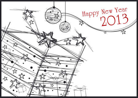 New year background Stock Vector - 16018968