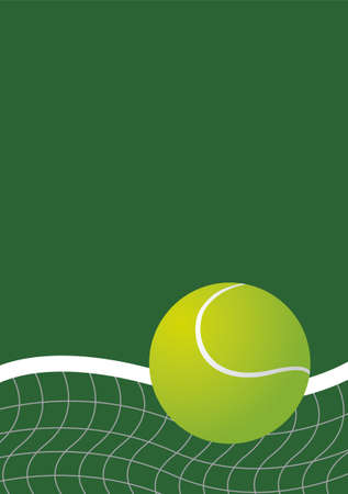 Tennis background design Vector