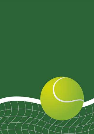Tennis background design