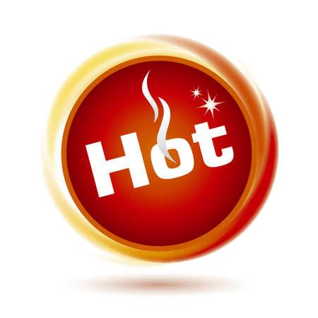 Hot icon design