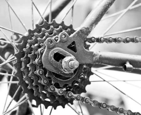fietsketting: Fietsketting Stockfoto