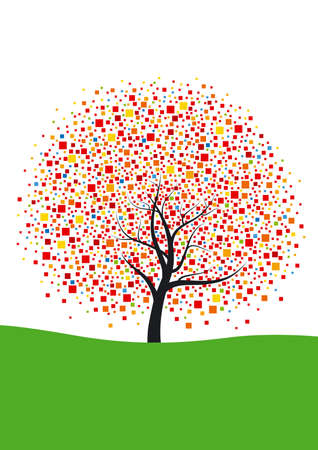 Abstract tree Stock Vector - 17291324