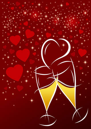 Valentines background d�a