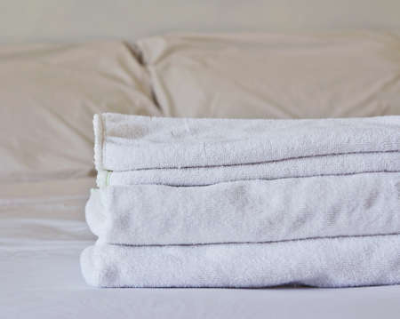 stateroom: Towel on the bed