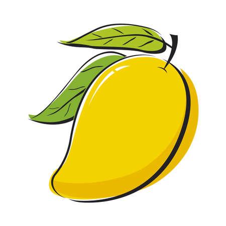Projekt mango Ilustracje wektorowe
