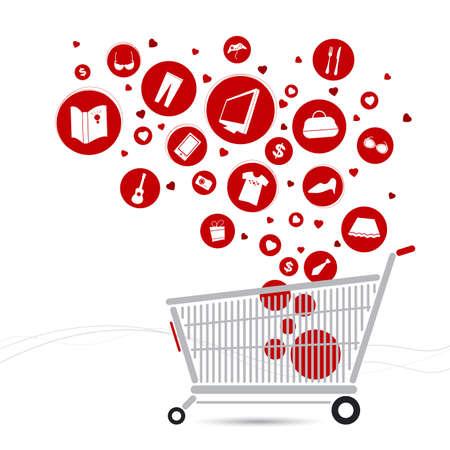 cart: Shopping cart design