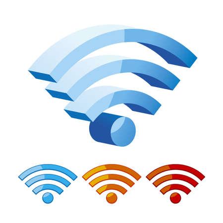 Wifi symbol Stock Vector - 19091776
