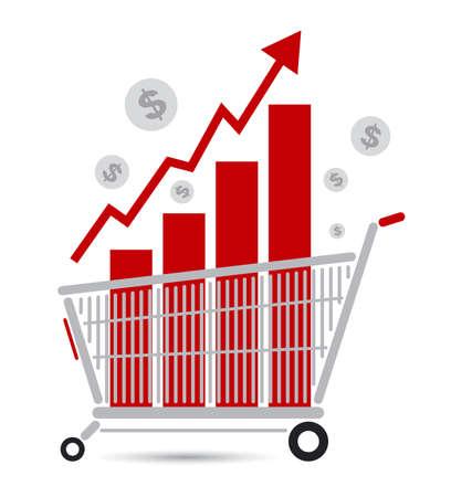 shopping cart icon: Shopping cart design