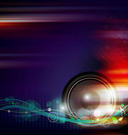 tercet: Music background design