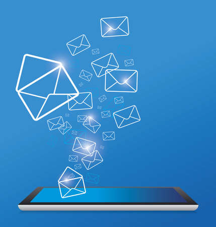 conection: Sending SMS  Illustration