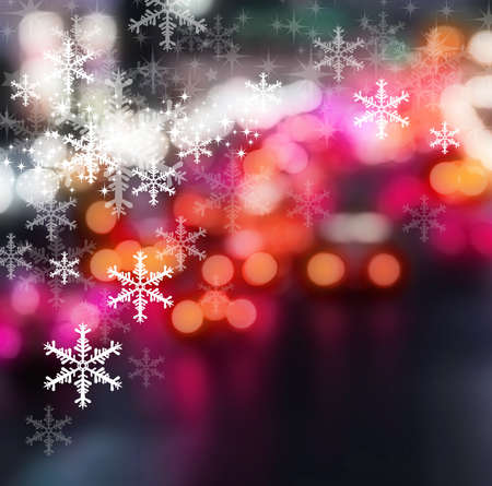 pink christmas: Christmas background design