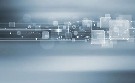 technology background: Technology background design