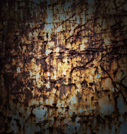 rusted: Vector rust background