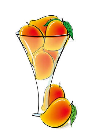 venereal: Mangos in glass