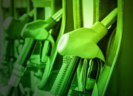 Petrol pump filling 版權商用圖片