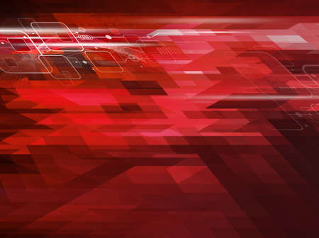 translucent red: Technology background design
