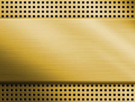 gold metal: Gold metal background  Stock Photo