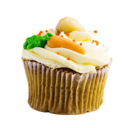 cupcakes isolated: Cupcake on white background Stock Photo