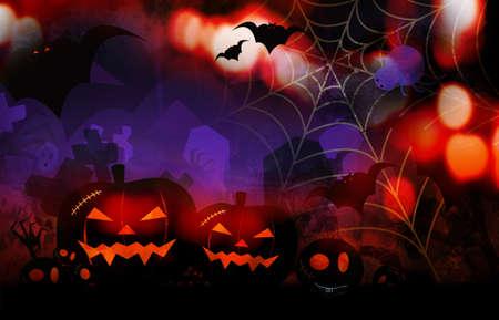 halloween concept: Halloween design