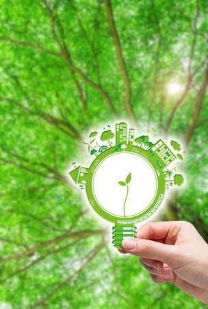 Ecology concepts photo
