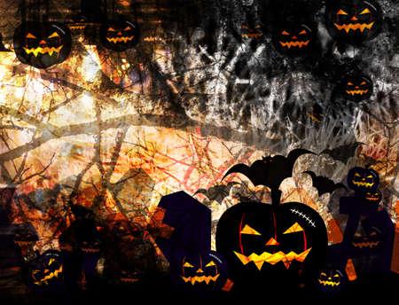 wasteful: Halloween background