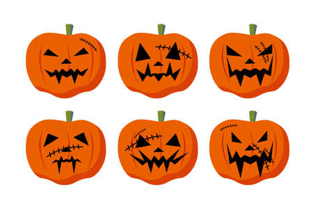 contusion: Halloween pumpkin Illustration