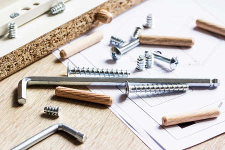 Tools for furniture assembly