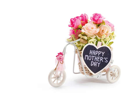 bike cover: Happy mothers day Stock Photo