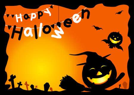 happy: Happy Halloween Illustration