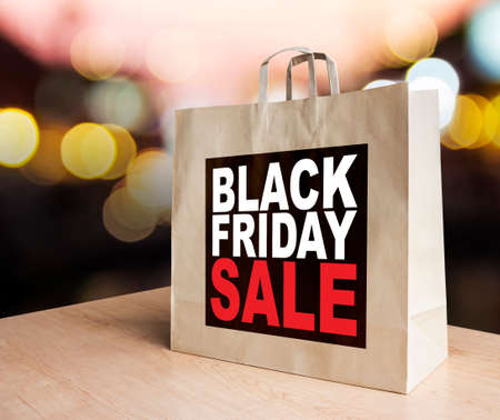 Black friday sale 免版税图像
