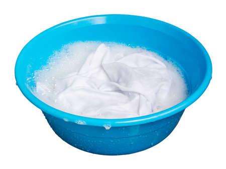 soak: Soak whites clothes in the enamelled bowl